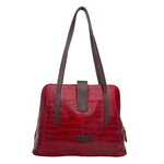 Sb Atria 03 Women s Handbag Croco,  red
