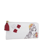 Belle W2 Women s Wallet, Ranch,  white