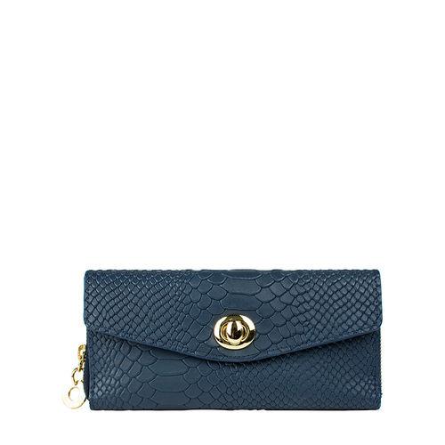 Phoebe W1 Women s Wallet, Snake Ranch,  blue