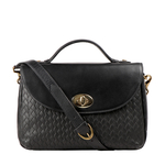 Cavendish 04 Women s Handbag Woven Melbourne Ranch,  black