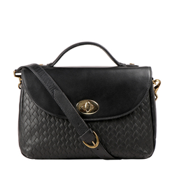 Cavendish 04 Women's Handbag Woven Melbourne Ranch,  black
