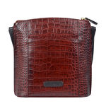 Scorpio 03 Sb Women s Handbag, Croco Melbourne Ranch,  red