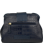 Paulina 02 Women s Handbag, Cement Croco Melbourne,  midnight blue