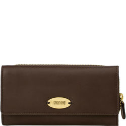 Astra W2 Women's Wallet, Cow Escada Lamb,  brown, escada