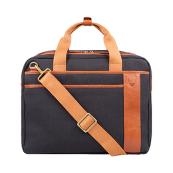 NAUSAR 03 BRIEFCASE CANVAS,  blue