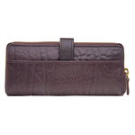 Yangtze W2 Women s Wallet, Elephant Ranch,  brown, elephant