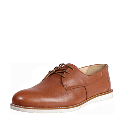 DAVID MENS SHOES MILANO, 8,  tan