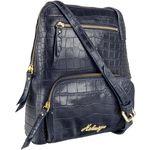 109 03 Women s Handbag, Croco,  blue