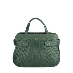 Brigitte 02 Women's Handbag Cow,  emerald green