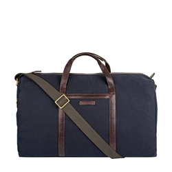 BORJIGIN 03 DUFFLE BAG CANVAS,  navy blue