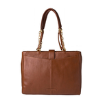 Azha 01 Handbag,  tan, ranchero
