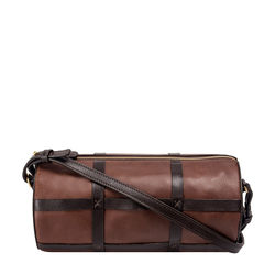 HIDESIGN X KALKI FREEDOM 03 CROSSBODY WAXED SPLIT,  tan