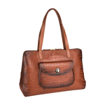 Croco 02 Women s Handbag, Croco Melbourne Ranch,  tan