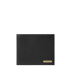 017SC (RFID) MEN'S WALLET PRINTED REGULAR,  black