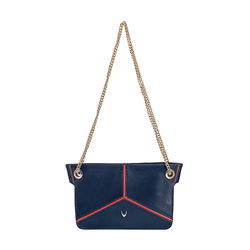 HIDESIGN X KALKI STAR 02 SLING BAG DENVER,  midnight blue