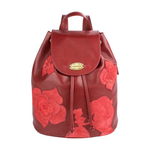 Plumette 01 Women s Handbag, Ranch Split Matching,  red