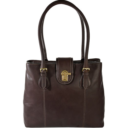Ruby 02 Women s Handbag, Cow Escada,  brown