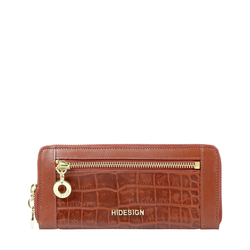 AFFAIR W1 RF WOMENS WALLET CROCO,  tan