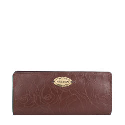 Rose W1 (Rfid) Women's Wallet, Rose Emb Melbourne Ranch,  brown