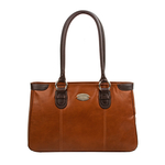 Amethyst 01 Women s Handbag, Khyber Cow Escada,  tan