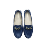 Hepburn Women s Shoes, Snake, 38,  midnight blue