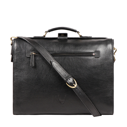 BARCELONA 02 BRIEFCASE APACHE,  black