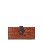 SCORPIO W1 SB (RF) WOMEN S WALLET CROCO,  tan