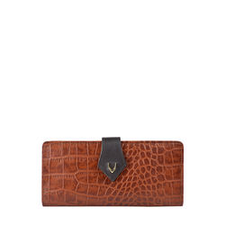 SCORPIO W1 SB (RF) WOMEN'S WALLET CROCO,  tan