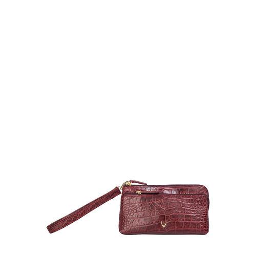 Sb Paola W1 Women s Wallet, Croco,  red