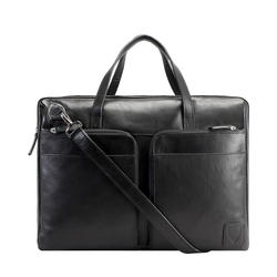 SLIDER 01 LAPTOP BAG REGULAR,  black