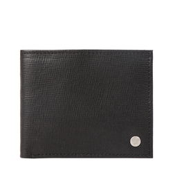 SIRIUS W1 SB (RFID) MENS WALLET MANHATTAN,  black