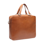 BOND 01 BRIEFCASE SADDLE,  tan