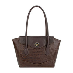 Sb Gisele 01 Handbag, croco,  brown