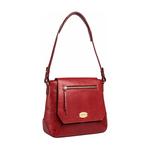 Taurus 02 Women s Handbag, Lizard Melbourne Ranch,  red
