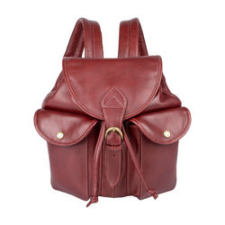 Small San Francisco Women's Handbag, Cow Deer,  red