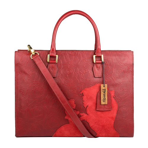 Rose 01 Satchel,  red