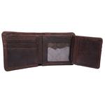 264-015 Men s wallet,  brown, camel