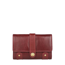 Intercato 10 Women's Wallet, roma,  red