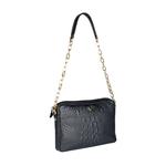 Perry 01 Women s Handbag, Baby Croco Melbourne Ranch,  black