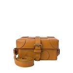 Small Boxy Women s Handbag, Roma Maori,  honey