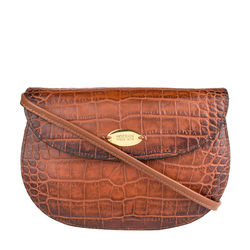 Croco W3 Women's Wallet, Croco Melbourne Ranch,  tan
