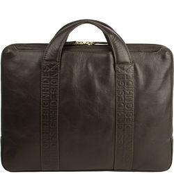 Laptop Sleeve 17b Men's Laptop Bag, Regular,  brown