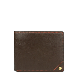 Asw005 (Rfid) Men's Wallet, Regular,  brown