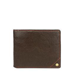 Asw005 (Rfid) Men's Wallet, Regular,  brown