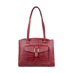 LOTUS 02 SB WOMENS HANDBAG CROCO,  marsala