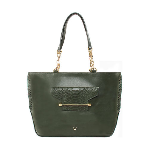 Delilah 03 Women s Handbag Snake,  emerald green