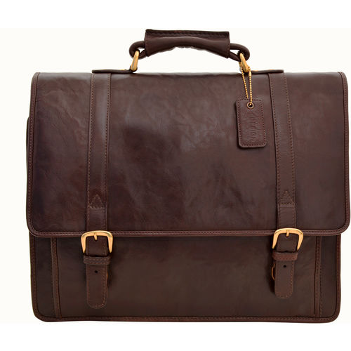 Andre 4215 Briefcase,  brown, regular