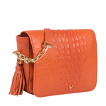 Rive Gauche 01 Women s Handbag Baby Croco,  lobster