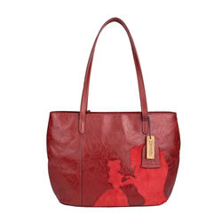Rose 02 Handbag,  red