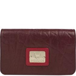 Jensen 01 Women's Wallet,  aubergine, elephant